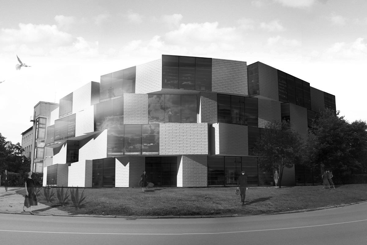 Biroju ēka Lauvas ielā