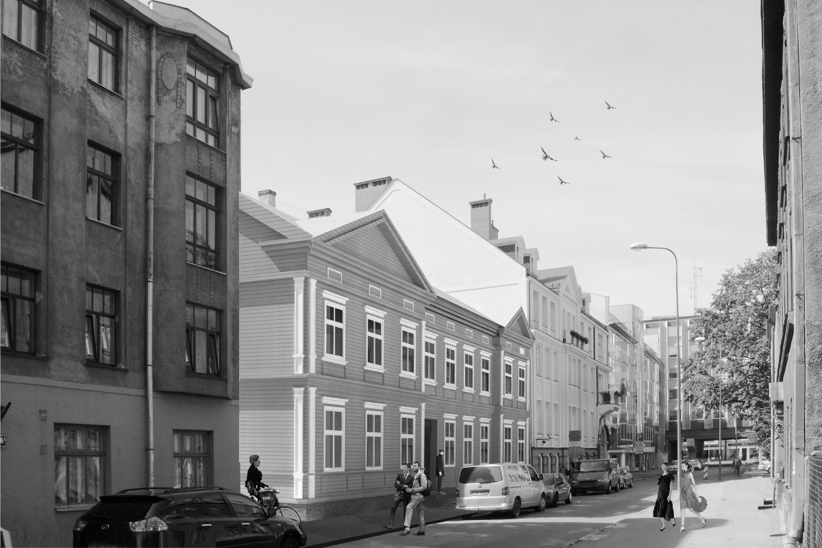 Reconstruction in Mednieku Street