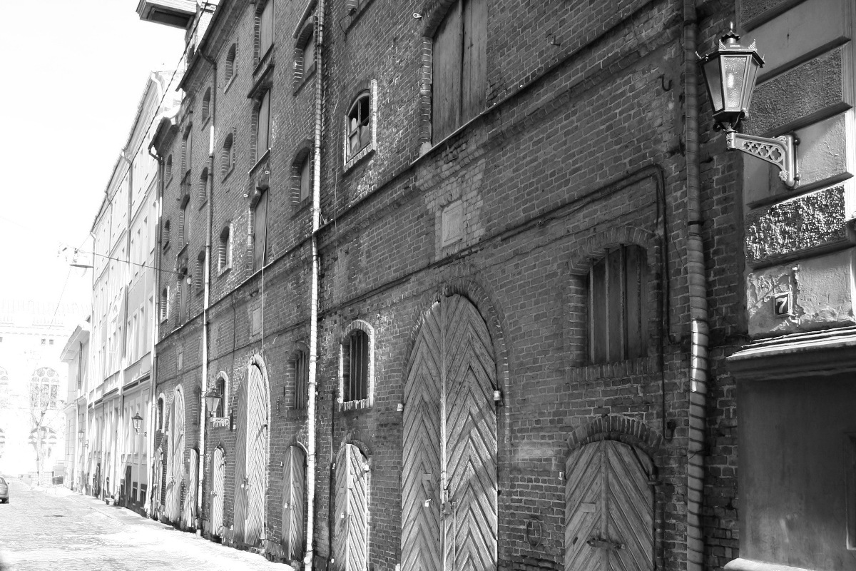 Warehouses in Arsenāla Street